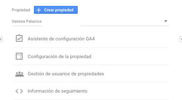 Google Analytics 4 configuración