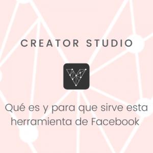 Creator Studio de Facebook